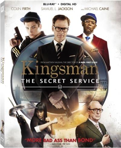 Kingsman The Secret Service DVD
