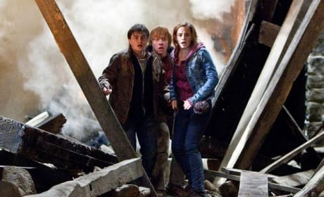 Harry Potter Stars Shoot New Scenes: Something to Do With Gringotts!