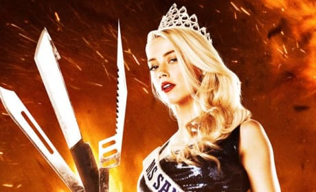 Machete Kills: Amber Heard Finally Gets Her Character Poster
