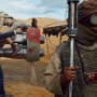 J.J. Abrams Star Wars The Force Awakens Set Photo