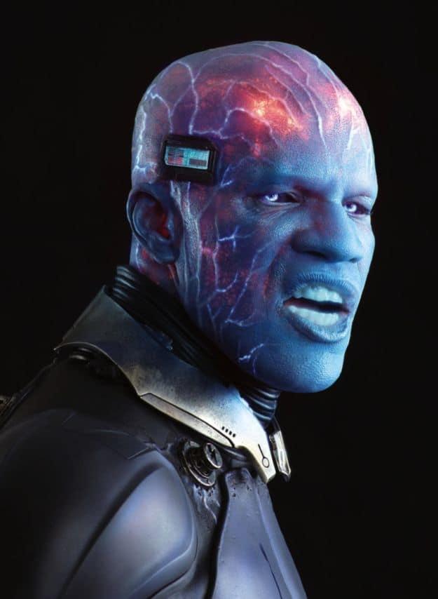 Jamie Foxx is Electro in The Amazing Spider-Man 2