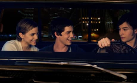 Emma Watson, Logan Lerman, and Ezra Miller The Perks of Being a Wallflower