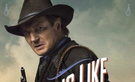 A Million Ways to Die in the West Liam Neeson Poster