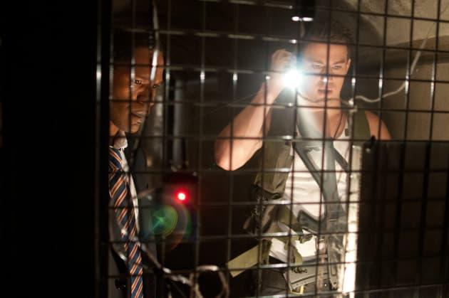 White House Down Jamie Foxx Channing Tatum