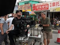 Steven Soderbergh filming Contagion