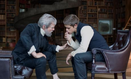 The Giver Stars Brenton Thwaites Jeff Bridges