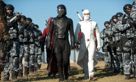 G.I. Joe Retaliation stills: First Look at Cobra Commander
