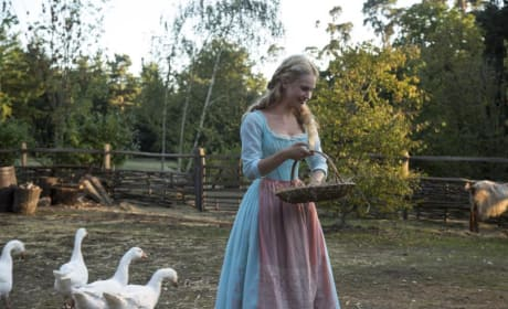 Lily James Cinderella Still