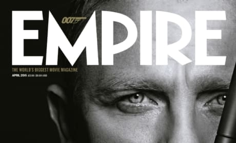 Empire Spectre James Bond Cover