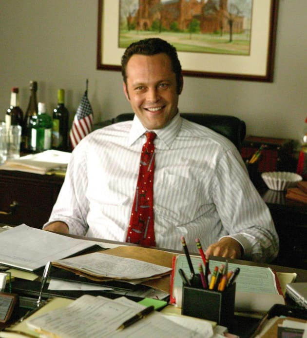 Vince Vaughn in Wedding Crashers