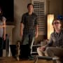 Ashley Greene Sebastian Stan and Tom Felton in The Apparition