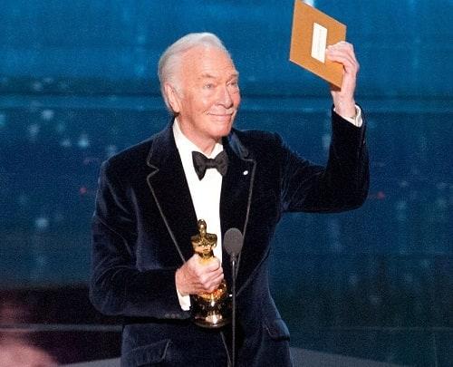 Christopher Plummer Wins Oscar
