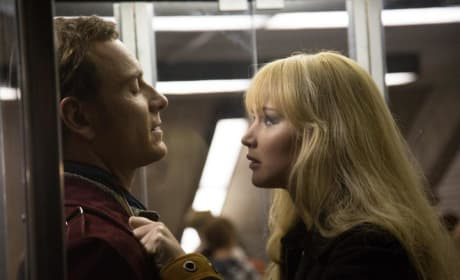 X-Men Days of Future Past Michael Fassbender Jennifer Lawrence