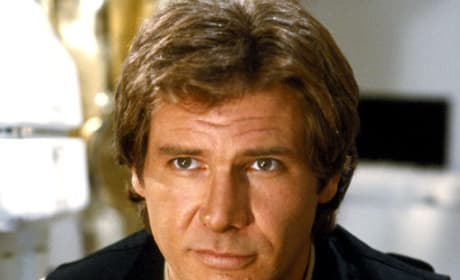 Harrison Ford is Han Solo