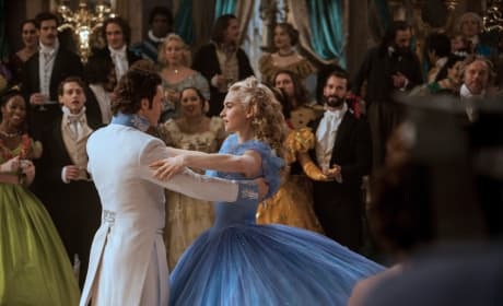 "Cinderella: Lily James Talks Being ""Desperate to Play Her"""