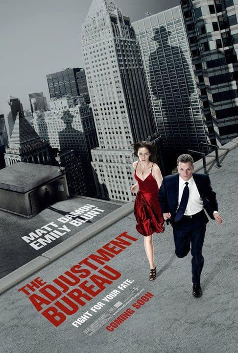 Adjustment Bureau US Poster