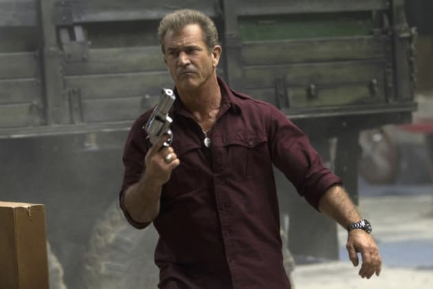 The Expendables 3 Star Mel Gibson