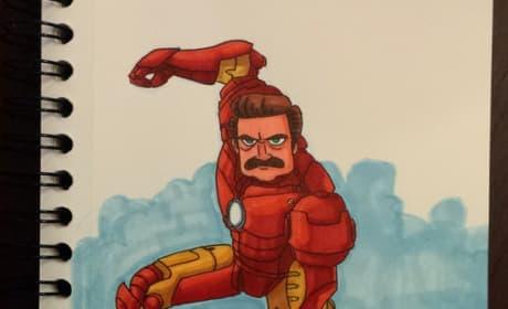 Ron Man Poster
