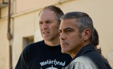 Clooney's Cold Gaze