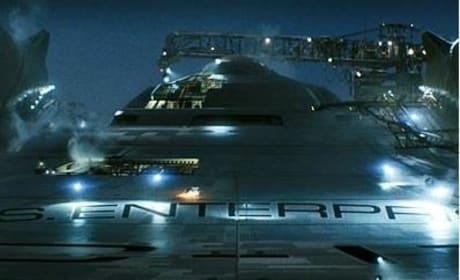 Star Trek Spoilers: The New U.S.S. Enterprise!