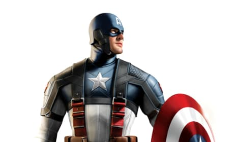 Captain America Costume Art 3