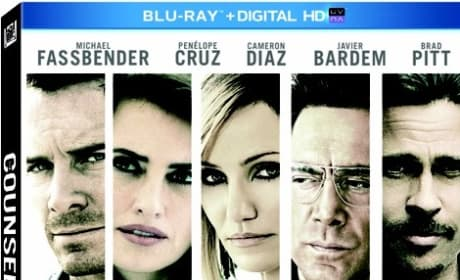 The Counselor DVD