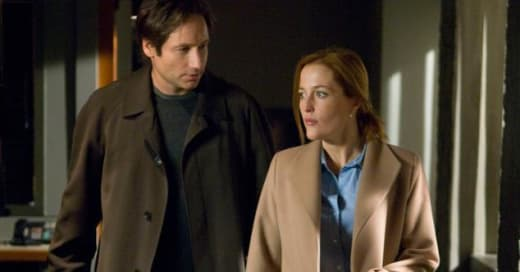 Scully and Mulder