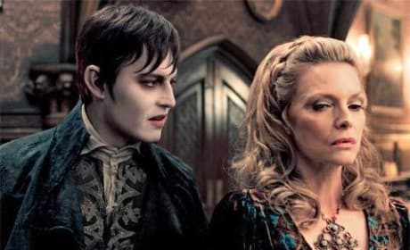 New Dark Shadows Pic: Depp & Pfeiffer Stare