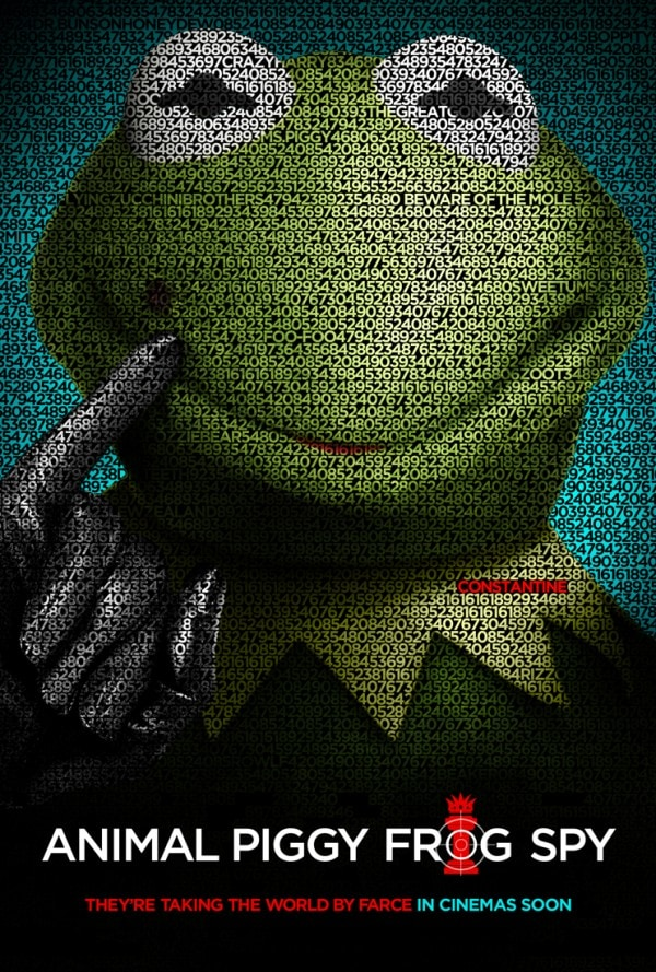 Muppets Most Wanted Tinker Tailor Soldier Spy Poster