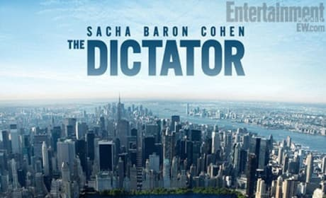 The Dictator Poster: Sacha Baron Cohen Conquers Central Park