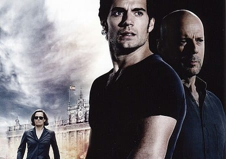 Bruce Willis, Henry Cavill and Sigourney Weaver in The Cold Light of Day