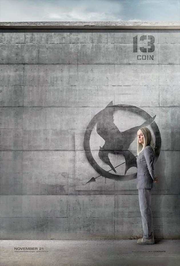 Mockingjay Part 1 Julianne Moore Poster