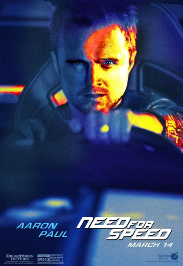 Need for Speed Aaron Paul Poster
