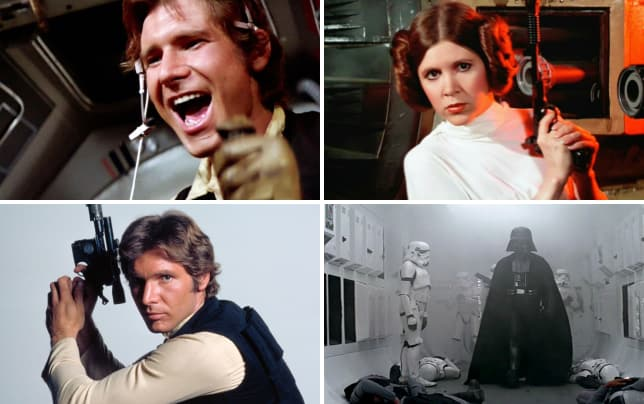 Star wars harrison ford is han solo