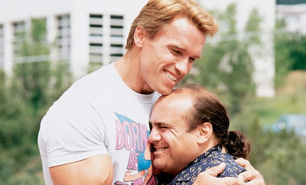 Twins Arnold Schwarzenegger Danny Devito Movie Fanatic