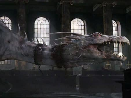 Gringotts Bank Dragon