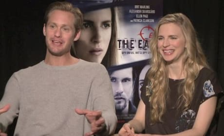 Alexander Skarsgard Brit Marling Photo