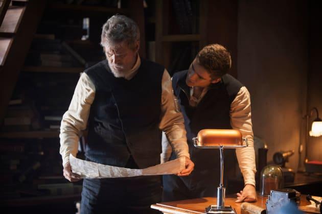 The Giver Brenton Thwaites Jeff Bridges