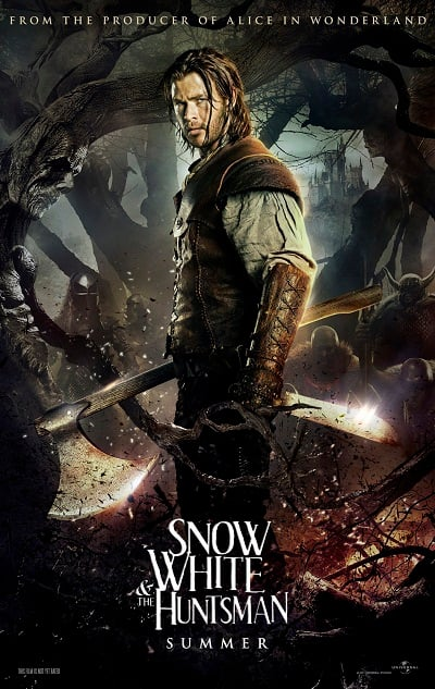 Chris Hemsworth Snow White and the Huntsman Character Poster