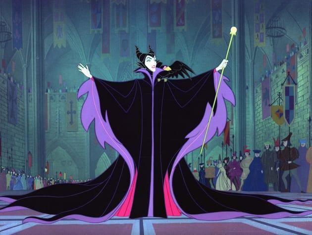 Maleficent in Sleeping Beauty