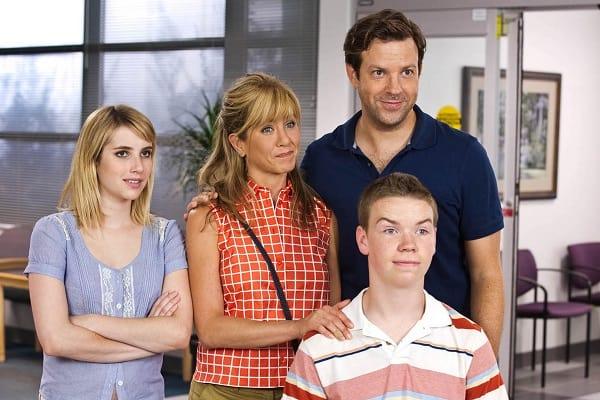 We're the Millers Stars Jason Sudeikis Jennifer Aniston