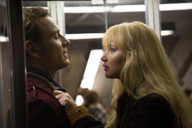 X-Men Days of Future Past Michael Fassbender Jennifer Lawrence