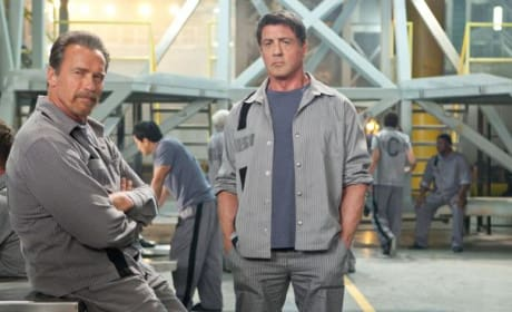 Escape Plan Screening at Comic-Con: Arnold Schwarzenegger & Sylvester Stallone to Host