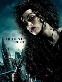 HP7 Bellatrix Hunt Begins Poster
