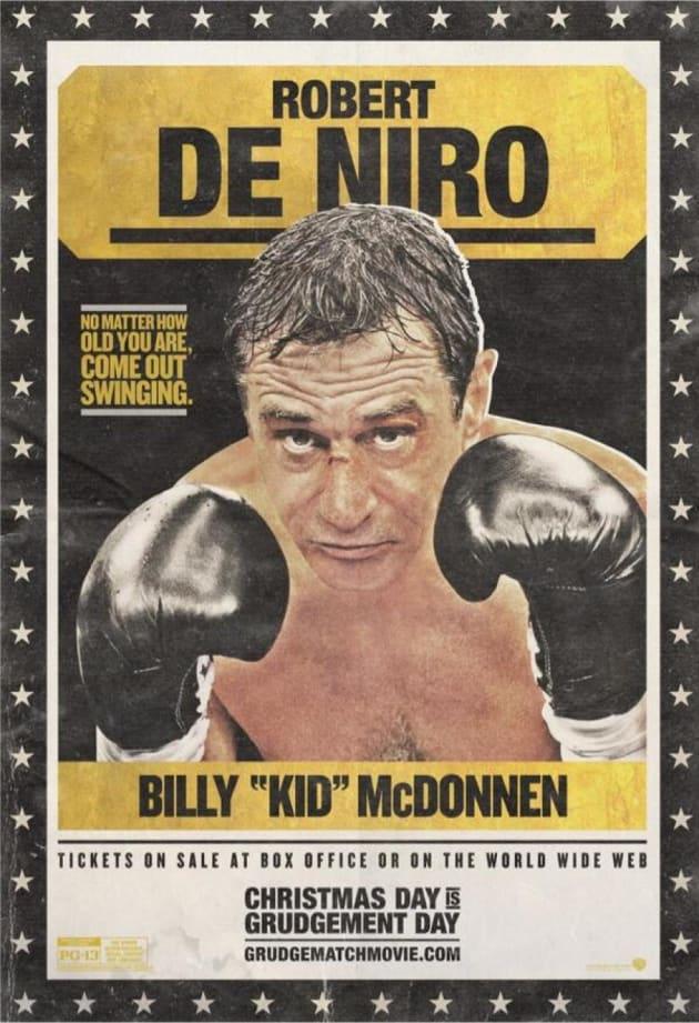 Grudge Match Robert De Niro Poster