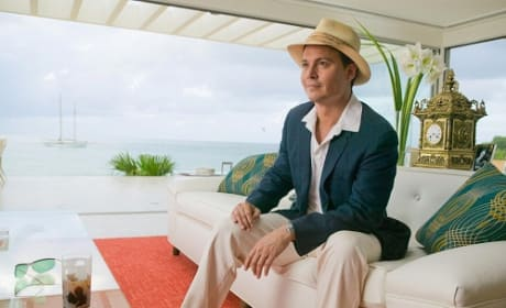 Johnny Depp is Paul Kemp in The Rum Diary