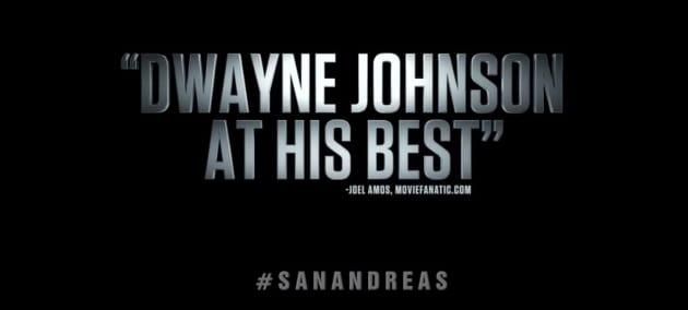 Movie Fanatic's San Andreas Quote