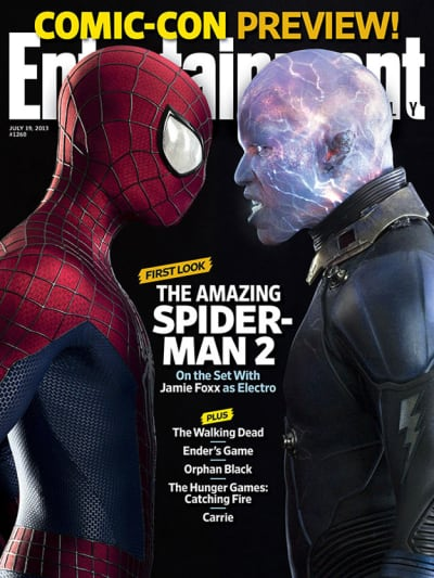 The Amazing Spider-Man EW Cover