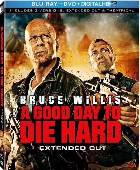 A Good Day to Die Hard DVD