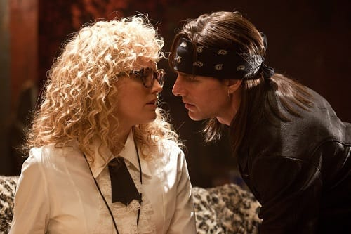 Malin Akerman and Tom Cruise in Rock of Ages